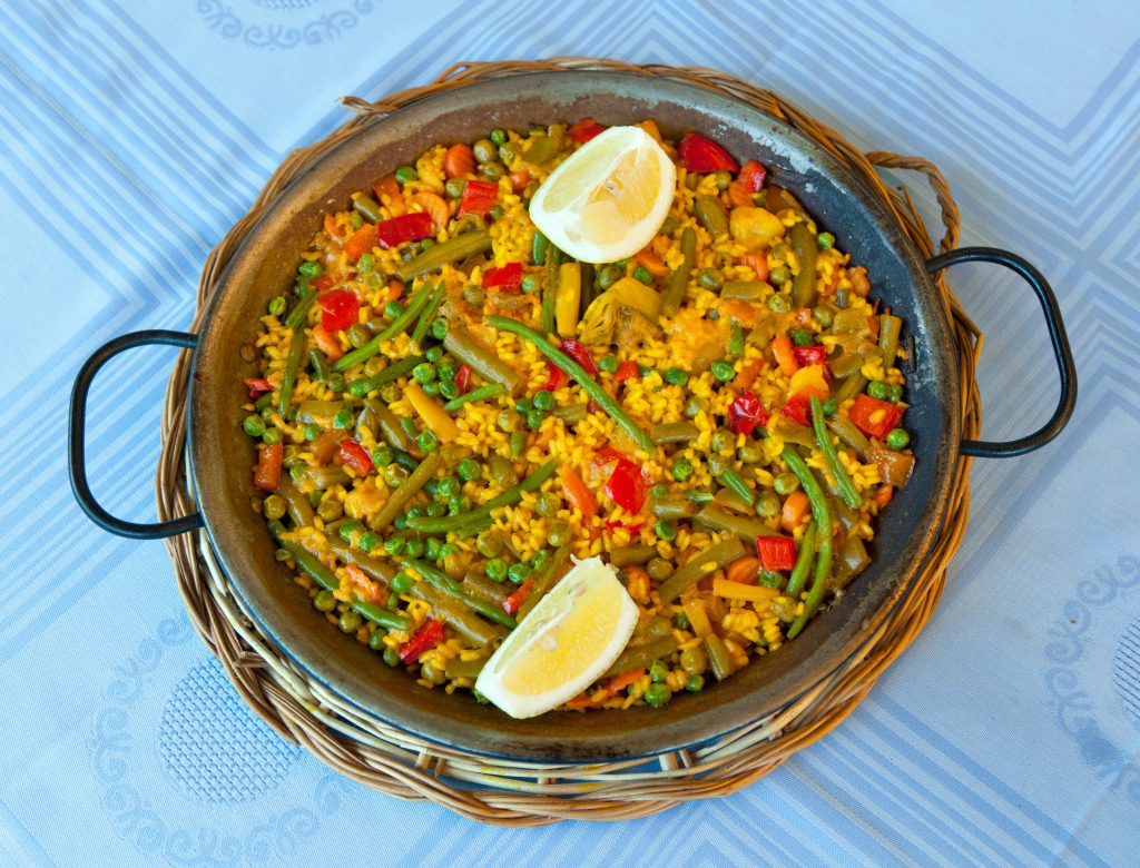 paella vegetariană