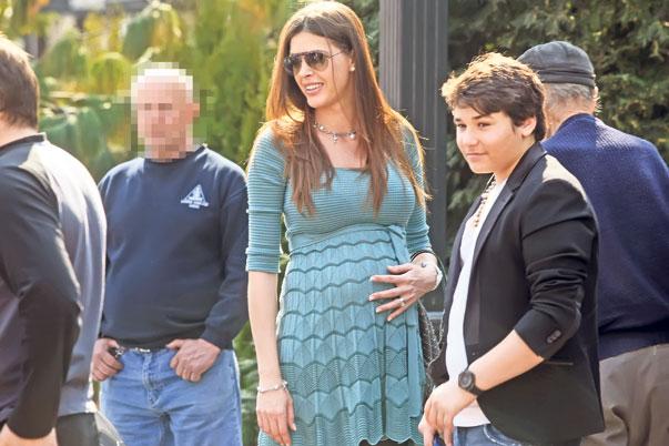 Alina se înțelege foarte bine cu băiatul lui Borcea ...