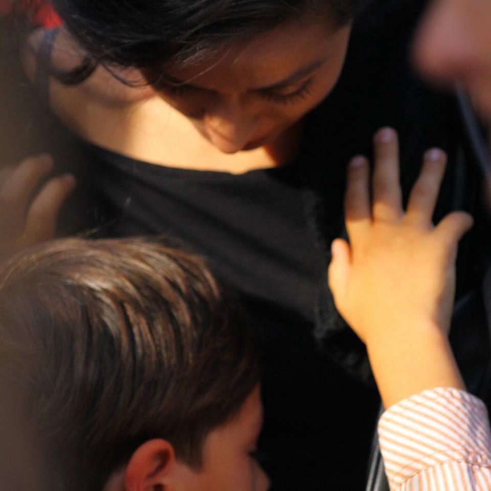 ... zi de școală a fiului ei | FOTO | Vedete de la noi | Libertatea.ro