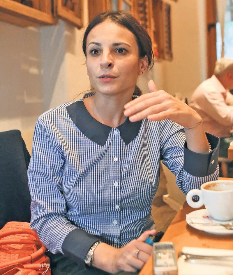 Former gymnast Corina Ungureanu will run as independent in