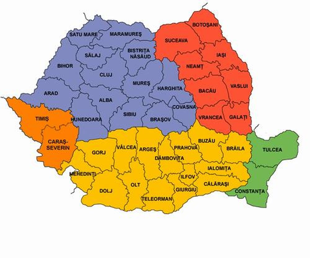 Harta Arad Harta Romaniei