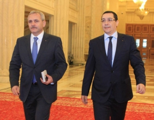 Variante de miniștri - Liviu Dragnea și Victor Ponta