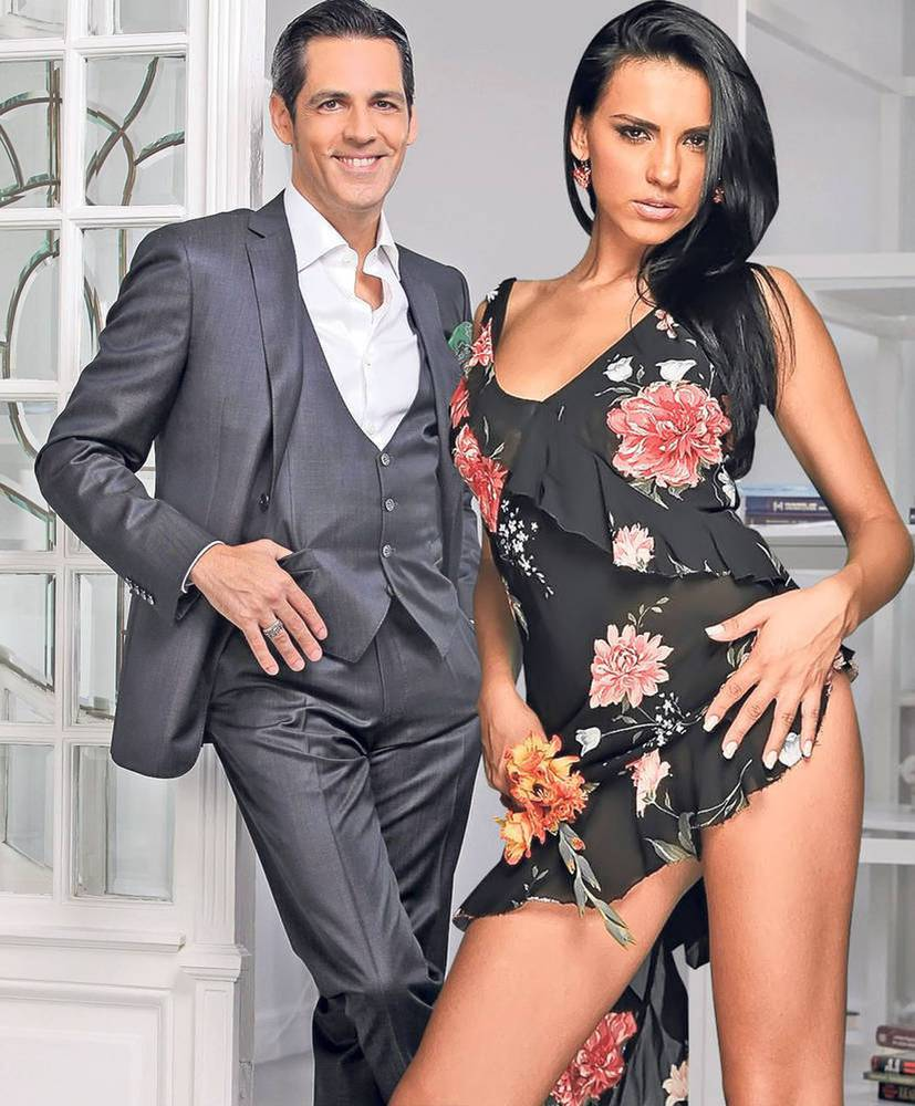 EXCLUSIV/ Bănică jr. și Lavinia, la prima lor ieșire romantică în Centrul Vechi. Au petrecut în club cu bodyguarzii la ușă!