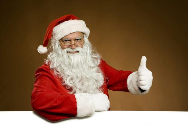 Cine este Moș Crăciun? - Una dintre fotografiile reusite ale lui Mos Craciun