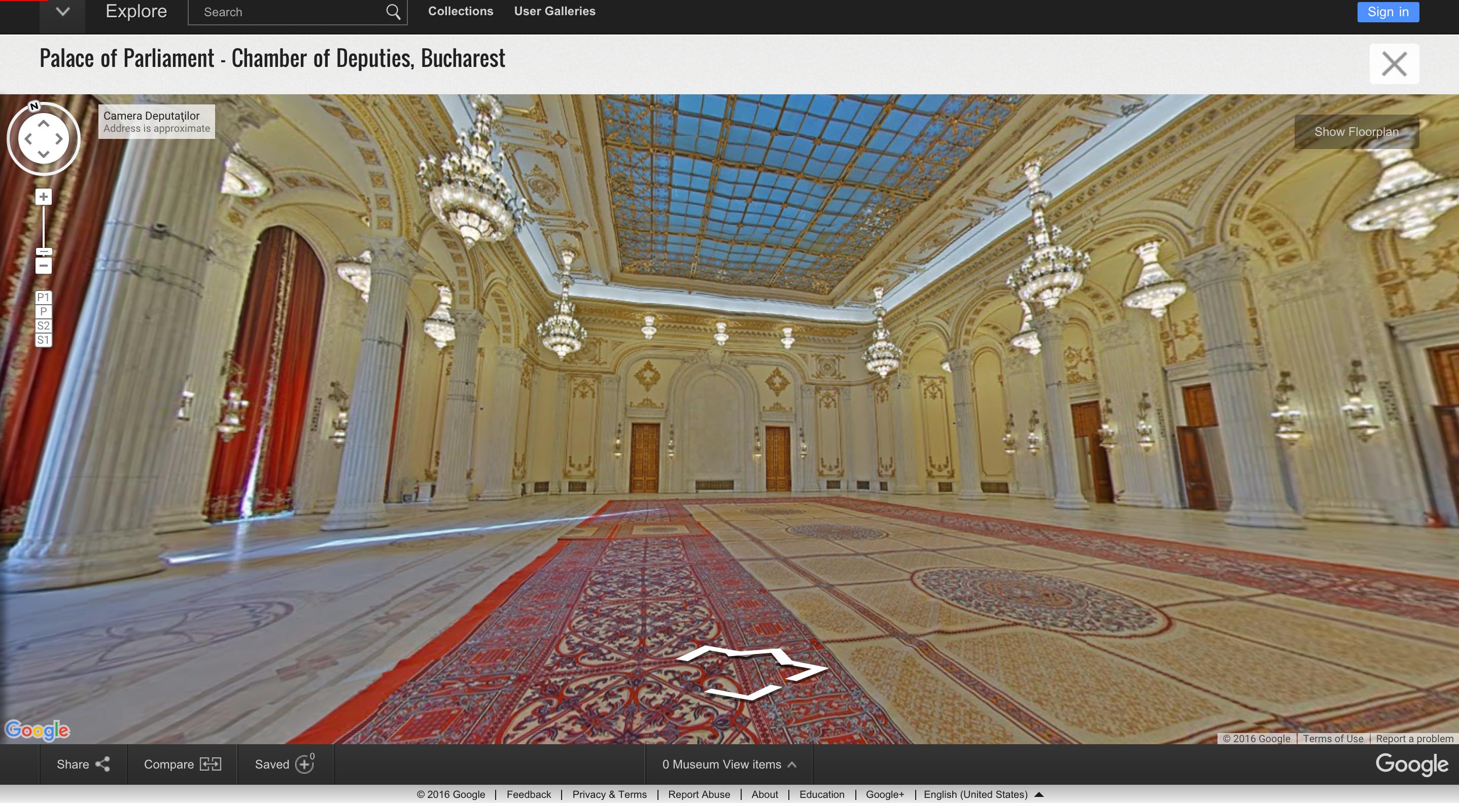 Imagini Spectaculoase Din Casa Poporului Acum Palatul