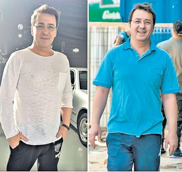 Chilian e mai suplu acum (foto stânga) decât în urmă cu câteva luni