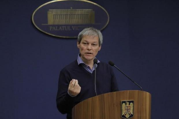 Variante de ministri - Dacian Cioloș