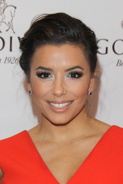 Eva Longoria Public Display of Godiva!