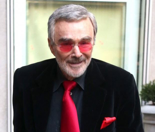 51911943 Frail-looking actor Burt Reynolds is seen making an appearance on 'Fox & Friends' in New York City, New York on November 18, 2015. FameFlynet, Inc - Beverly Hills, CA, USA - +1 (818) 307-4813