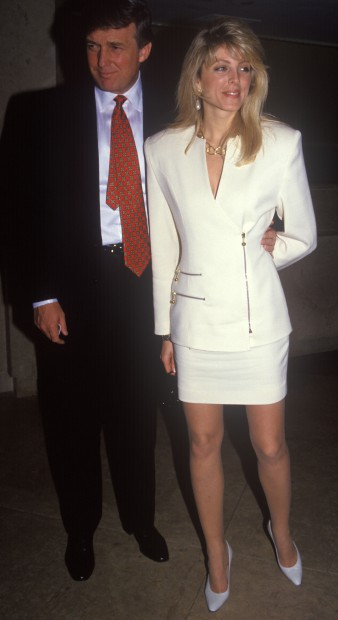 Jan 15, 2007 - Los Angeles, CA, USA - DONALD TRUMP with Marla Maples.