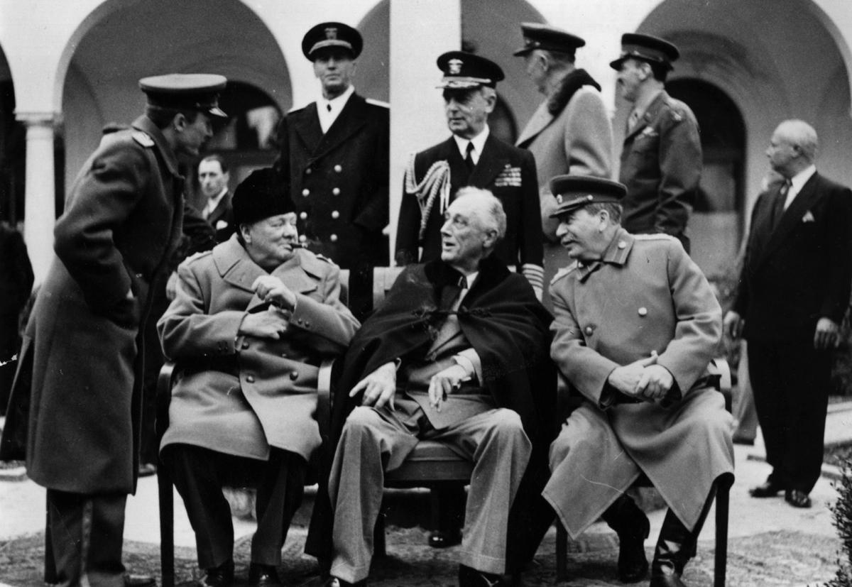 La Yalta, marile puteri și-au împărțit sferele de influență