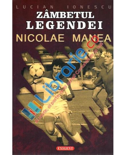 Cartea Zâmbetul Legendei îi ajută pe suporterii Rapidului să-l cunoască mai bine pe fostul idol al Giuleștiului, Nicolae Manea