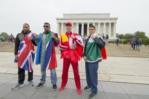 Boxerul Lucian Bute a vizitat Washingtonul înaintea meciului cu Badou Jack / FOTO