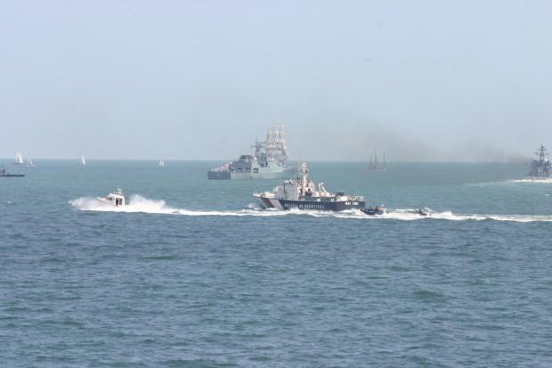 Nava de parulare maritima a Gărzii de Coastă MAI 1104 va mai rămâne, la cerwerea Agenției Frontex, încă o lună în zona graniței dintre Turcia și Grecia