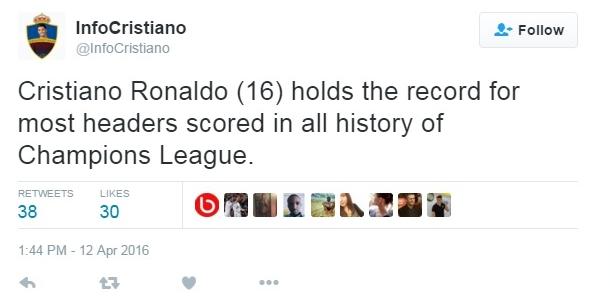 Ronaldo a dat goluri cu capul la foc automat și freza i-a rezistat