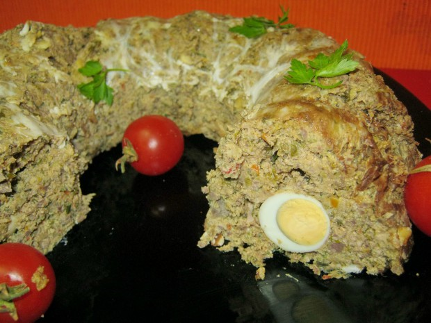drob de miel cu oua de prepelita