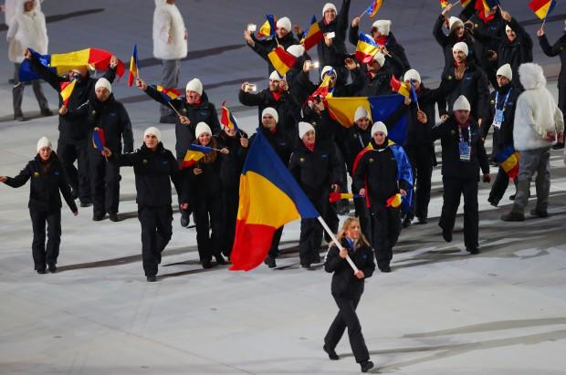 Eva Tofalvi a fost portdrapelul României la Vancouver EPA/SRDJAN SUKI