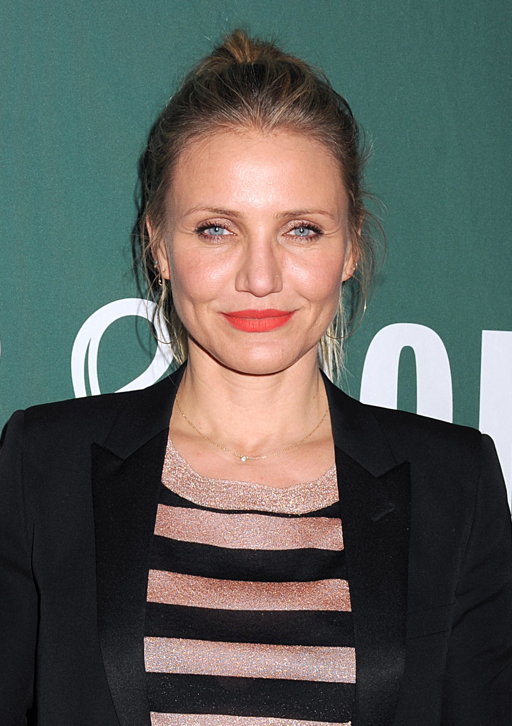 52015571 Actress Cameron Diaz promotes her new book