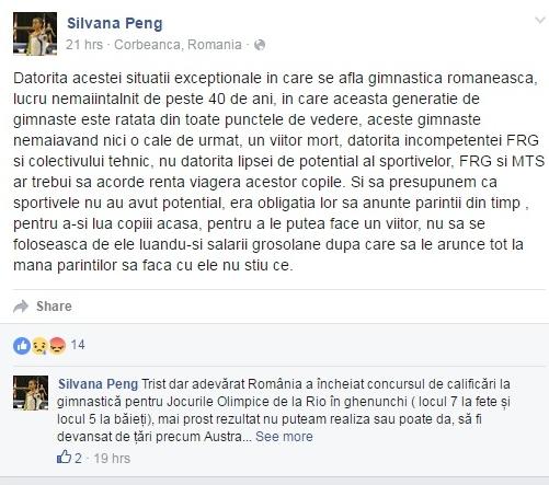 Mesaj al Silvanei Peng