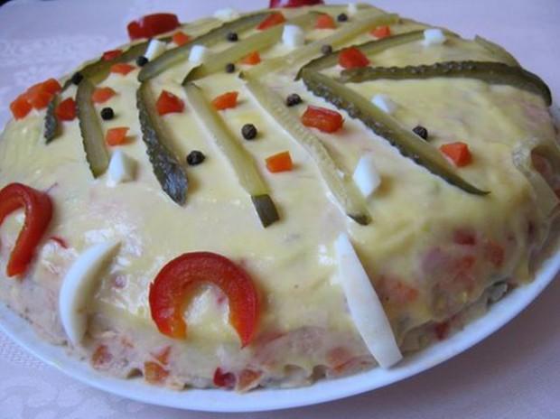 reteta salata boeuf cu ciuperci