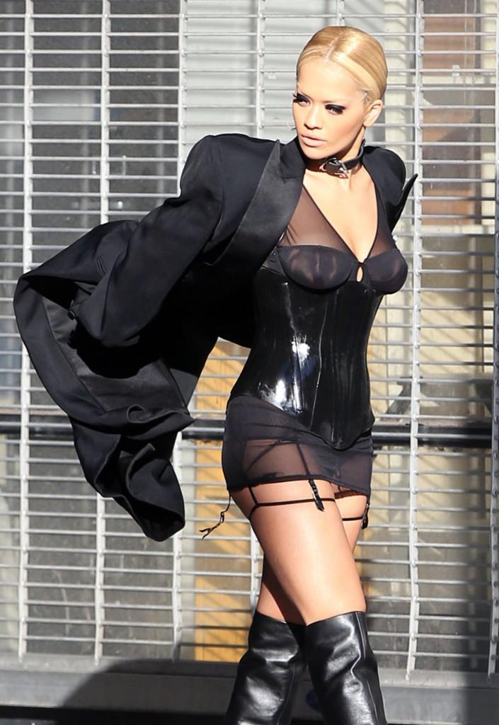 Rita Ora Does A Photo Shoot In LA