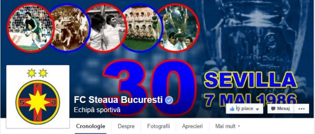 Steaua 30 CCE