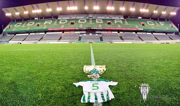 Tricoul lui Ekeng pe stadionul Cordobei