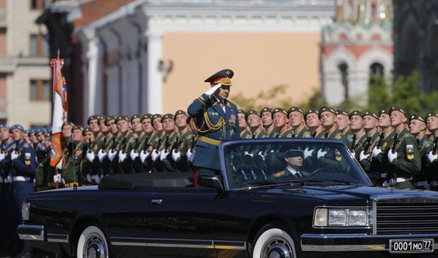 Paradă de Ziua Victoriei în Moscova