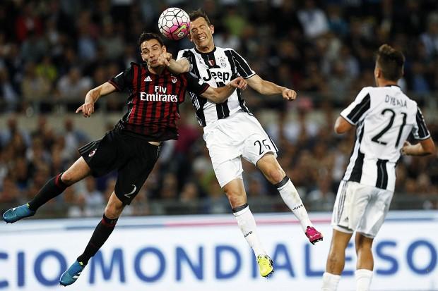 AC Milan - Juventus, finala Cupei Italiei / Foto: EPA