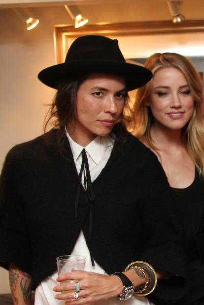 Amber Heard și Tasya van Ree
