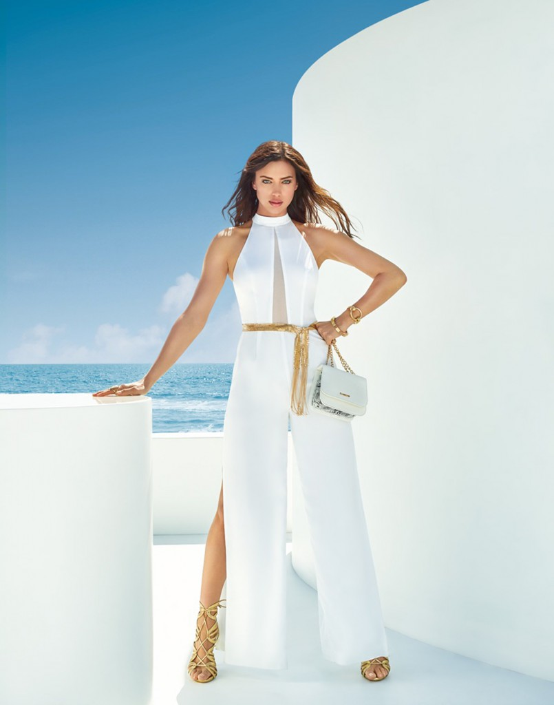Russian model Irina Shayk stars in BEBE summer 2016 campaign