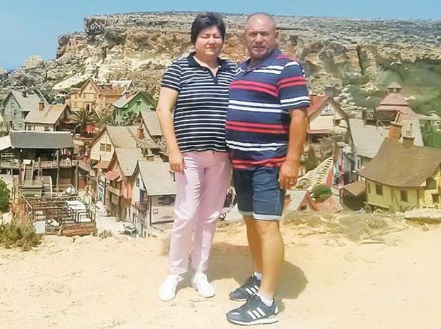Nea Raţă s-a relaxat cu nevasta lui în Malta, după un an de muncă