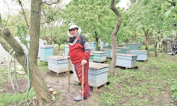 La bătrâneţe, Vasile Dianu a dat pescuitul pe apicultură