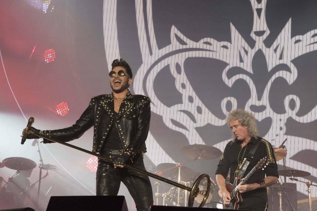 The Queen in concert