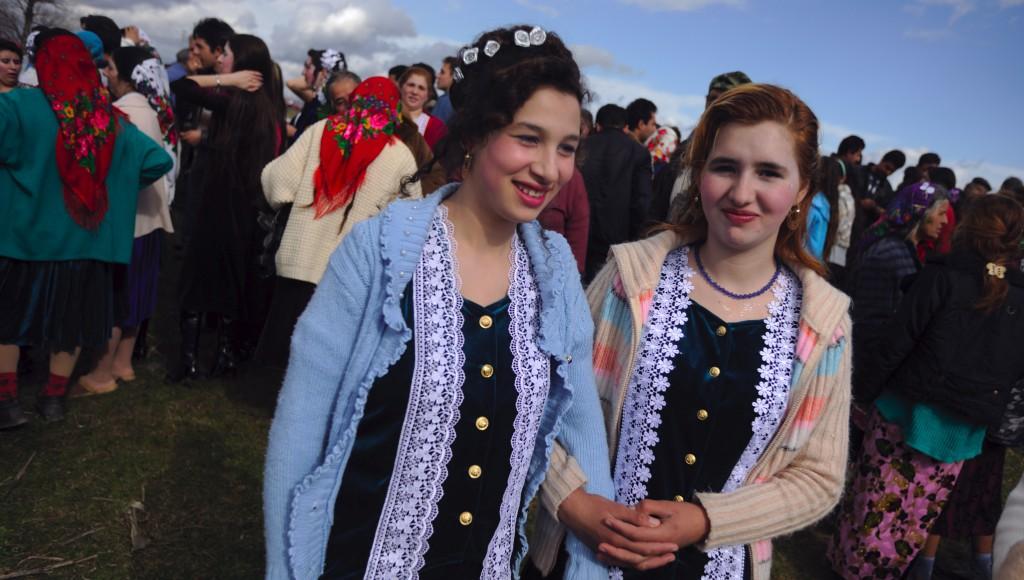 Traditional gypsy 'bride market'