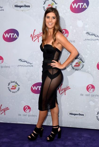 Sorana Cîrstea a făcut senzație la petrecerea jucătoarelor de la Wimbledon. (FOTO: Northfoto)