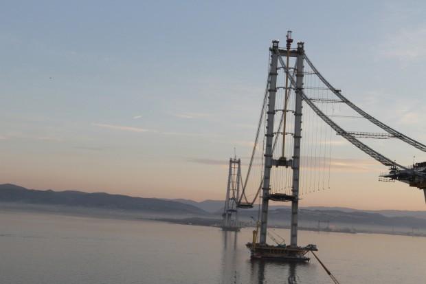 Cel mai mare pod din Turcia, ArcelorMittal