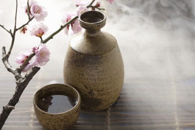 Japonia - sake