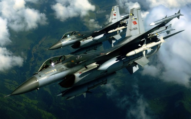 Turkey-F16-jet-fighter