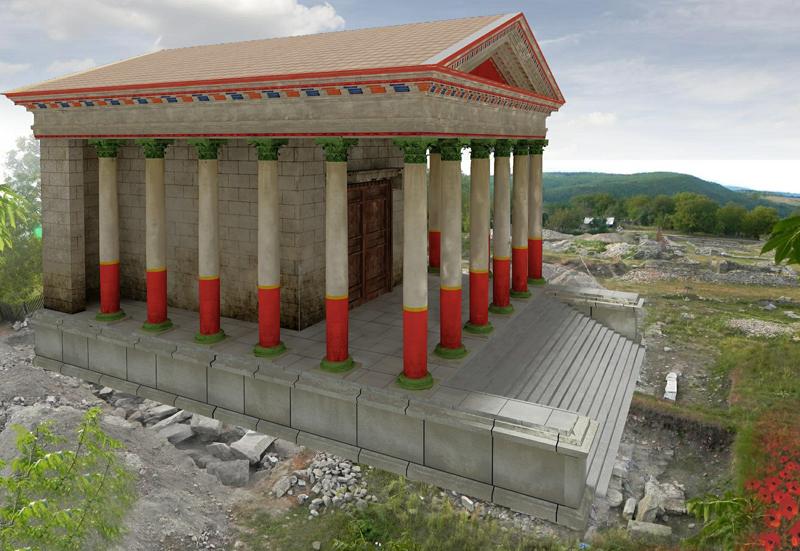 Forul va arăta exact ca acum 2.000 de ani, după recontrucție. Ambițiosul proiect de restaurare a cetății, pus la punct de specialiștii de la muzeul din Deva, are o valoare totală de 4,5 milioane de euro și va fi demarat în primăvara anului viitor