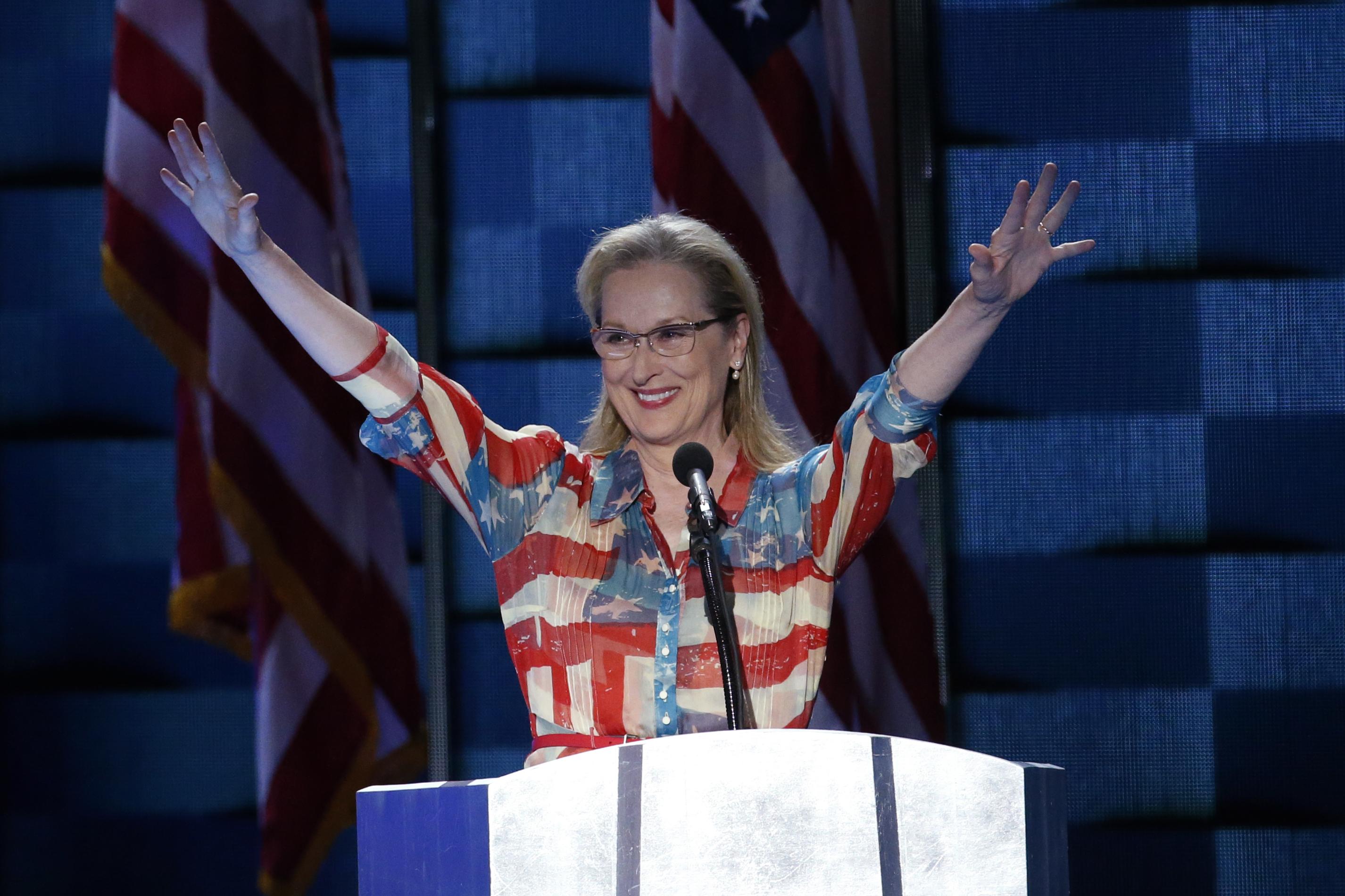 Meryl Streep, conventia nationala democrata, alegeri sua - EPA