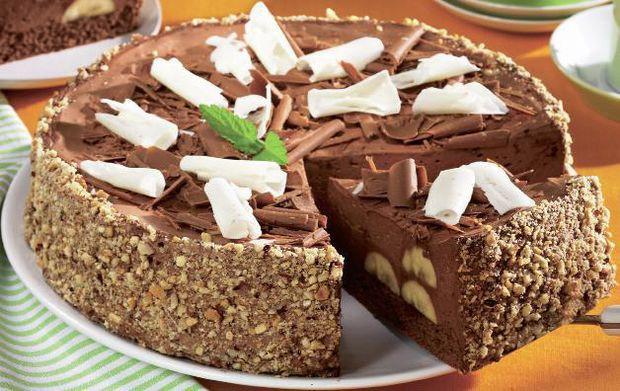retete tort de ciocolata cu banane