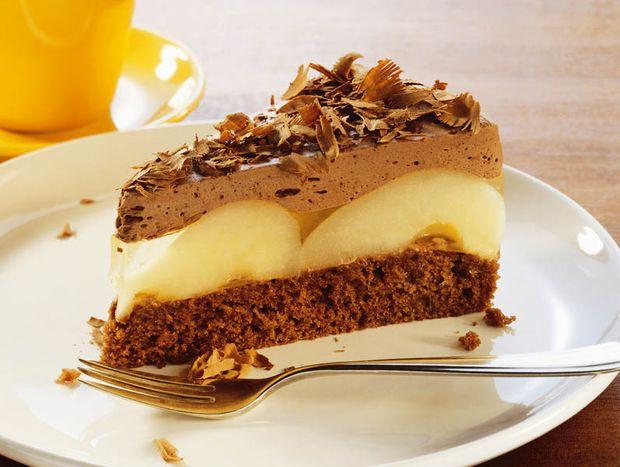 retete tort de ciocolata si pere