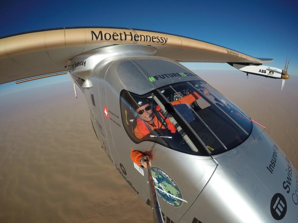Solar Impulse 2 plane lands in Abu Dhabi for the final leg of the solar flight