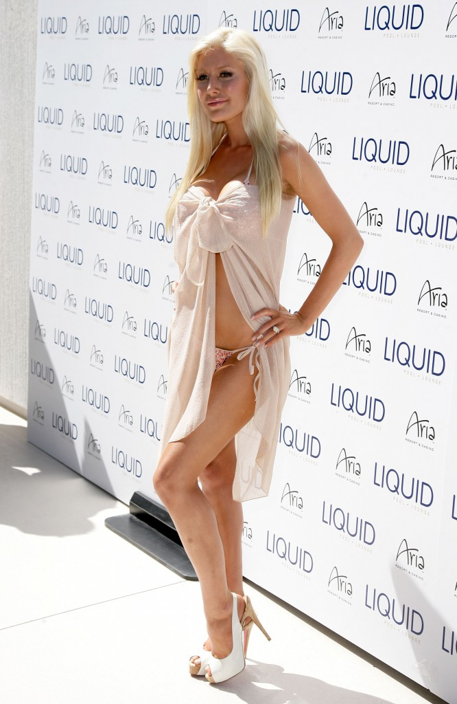 Heidi Montag At Liquid Pool Opening
