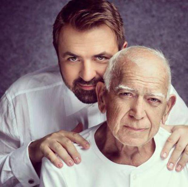 Hora Brenciu și tatăl său, Radu