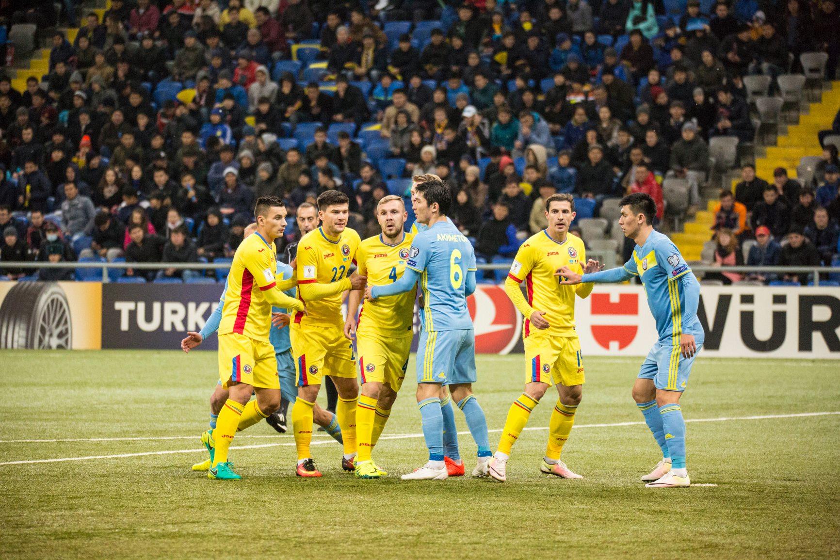 România a remizat în Kazahstan, 0-0 în preliminariile CM 2018, la capătul unui meci în care gazdele au jucat dur, peste limita regulamentului. Alex Chipciu, Dragoș Grigore și Cristi Săpunaru au părăsit terenul accidentați.