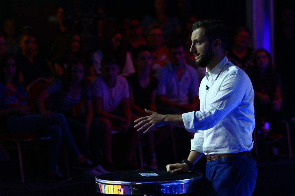 Dani Oțil la IUmor, aparitie pe scena