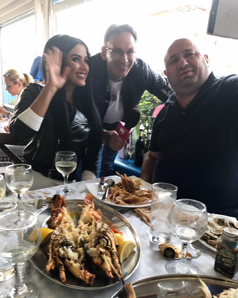 Daniela Crudu a gustat preparatele grecesti