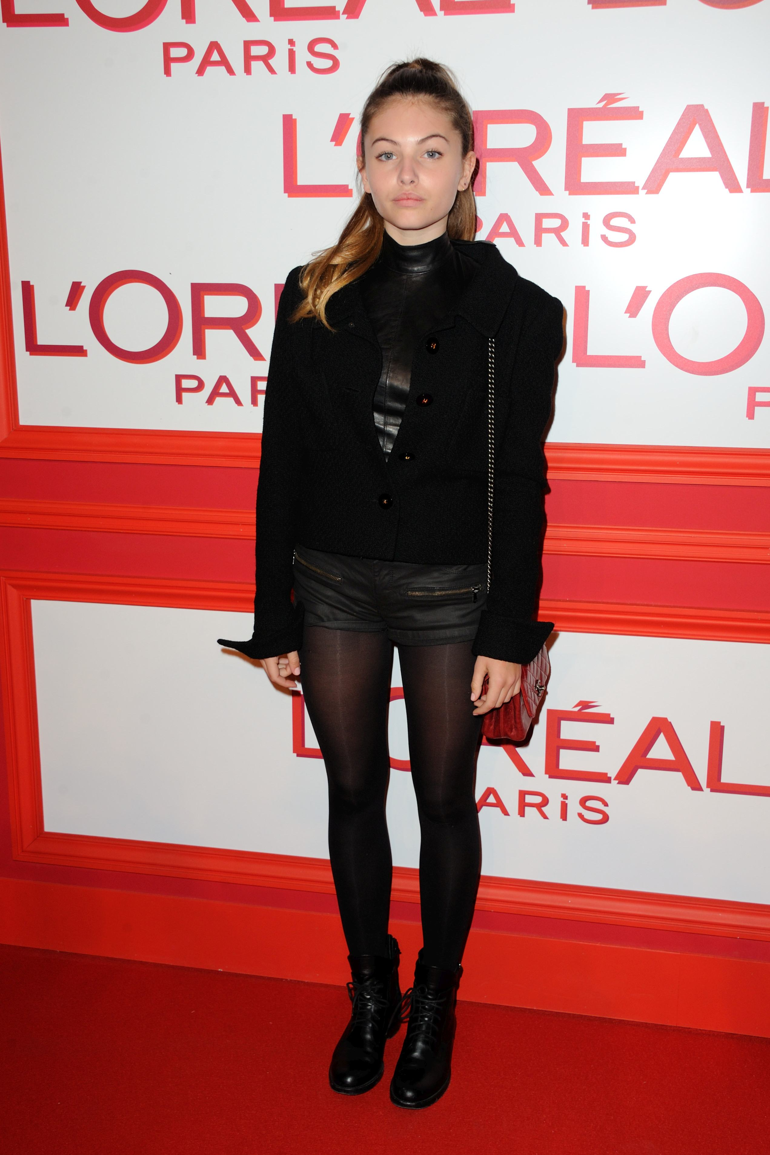 Thylane Blondeau, la un eveniment